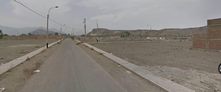 Terreno Pachacamac Cerca a La Comisaria.