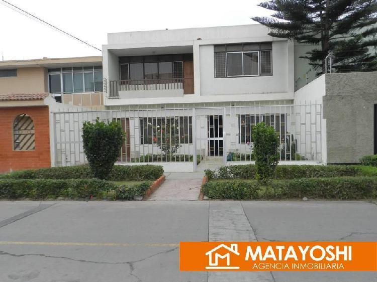 Vendo Casa Como Terreno en San Miguel, Alt. Cdra.32 Av La