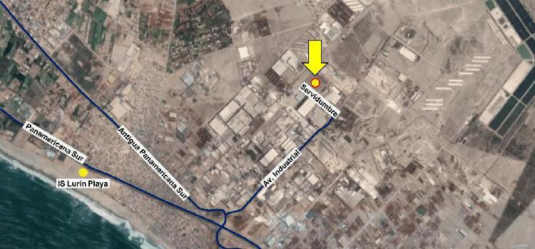 Venta de Lote Industrial en Lurin. 46,000 m², Las Praderas