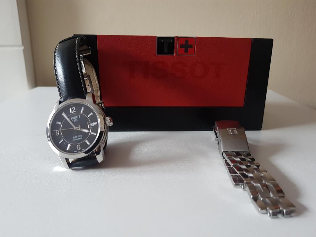 Reloj Tissot Suizo PRC 200