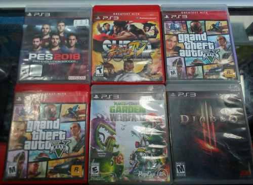 Juegos Para Playstation 3. Ps3. Precio Negociable