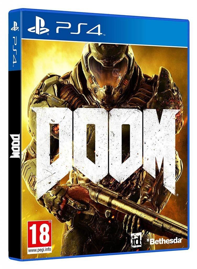 Doom Ps4 Nuevo Sellado