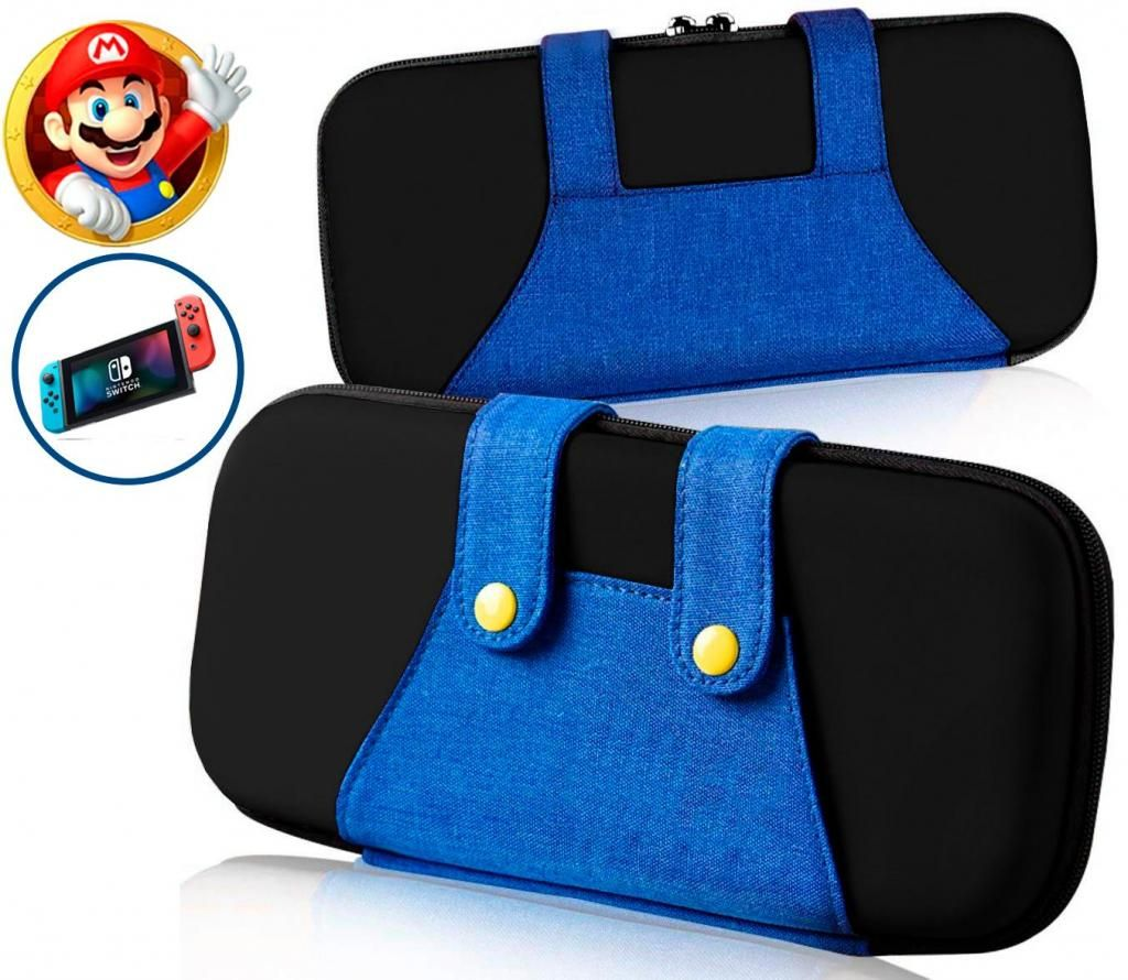 Estuche para nintendo switch Super mario bros / Funda