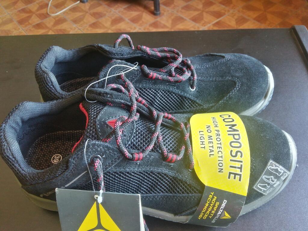 Zapato de Seguridad Delta Plus Talla 39