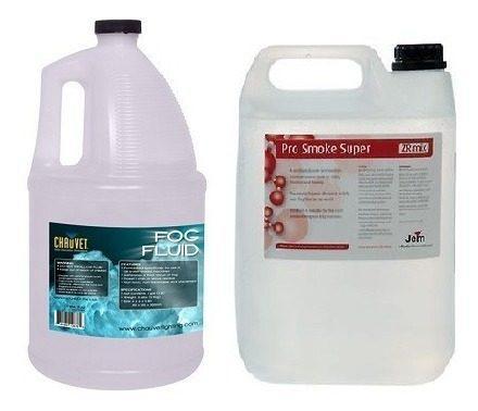 Líquido Para Máquina De Humo Y Burbujas 5 Litros P/oferta