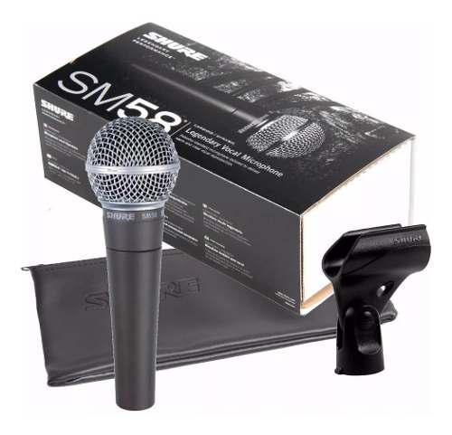 Microfono Profesional Shure Sm58 Nuevo Con Garantia