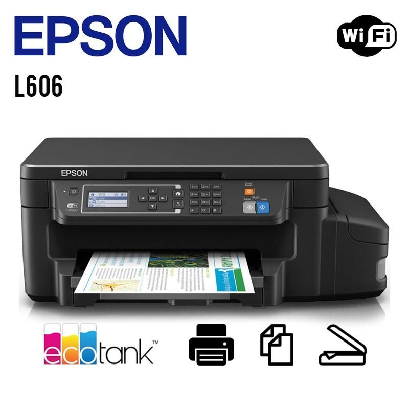 Multifuncional De Tinta Ecotnak Epson L606,