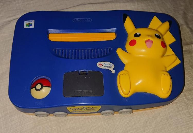 Nintendo 64 Pikachu Solo Consola