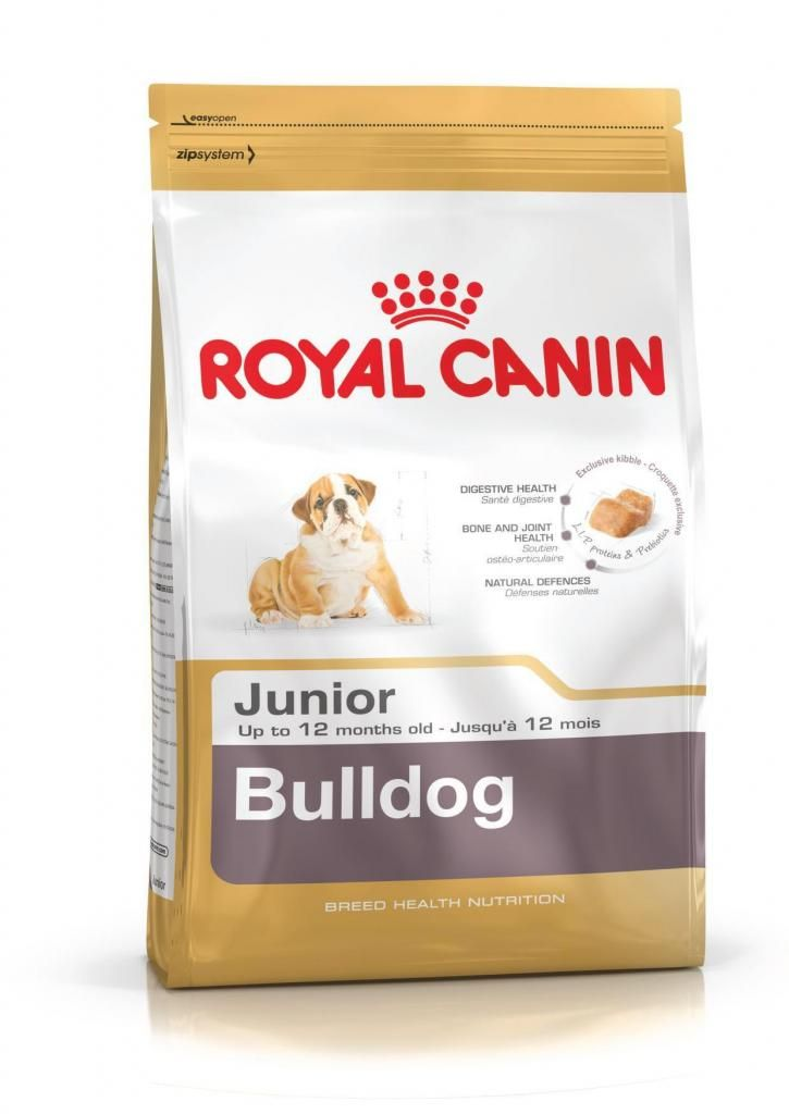 Royal Canin Bulldog Junior 12 Kg a