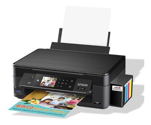 Impresora Epson Multifuncional Xp440 Wifi Sistema Continuo