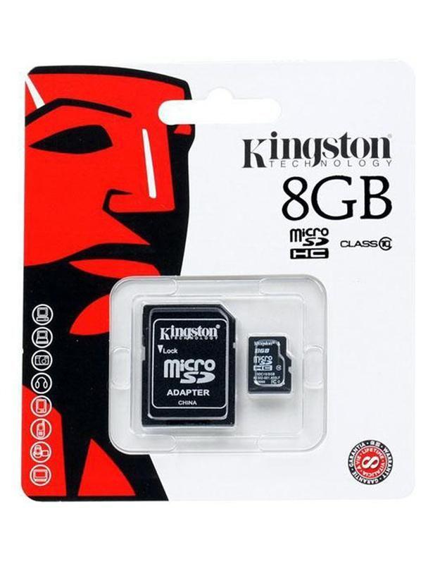 Memoria Micro Sd 8gb Kingston Clase 4 Por Mayor Docena
