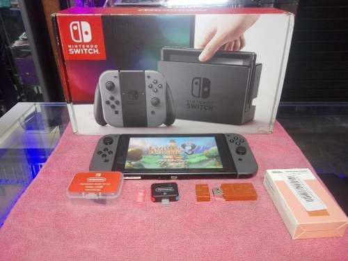 Nintendo Switch Flasheado 64gb, Rcmloader Y 8bitdo Cmo Nuevo