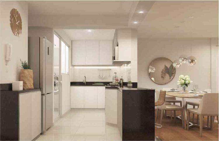 Vendo Hermoso Departamento de 95.64 m² en San Borja