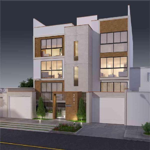 Vendo Hermoso Departamento de 99.18 m² en San Borja