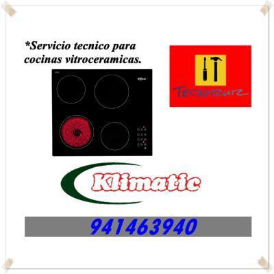 941463940 COCINA VITROCERAMICA KLIMATIC SERVICIO TECNICO