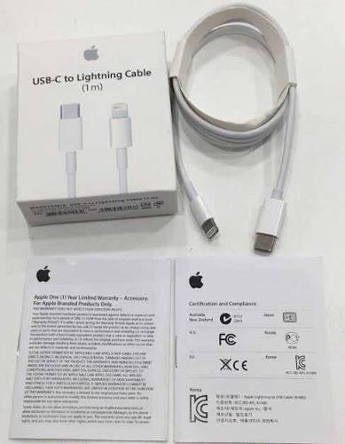 Cable Usb Tipo C A Ligthning