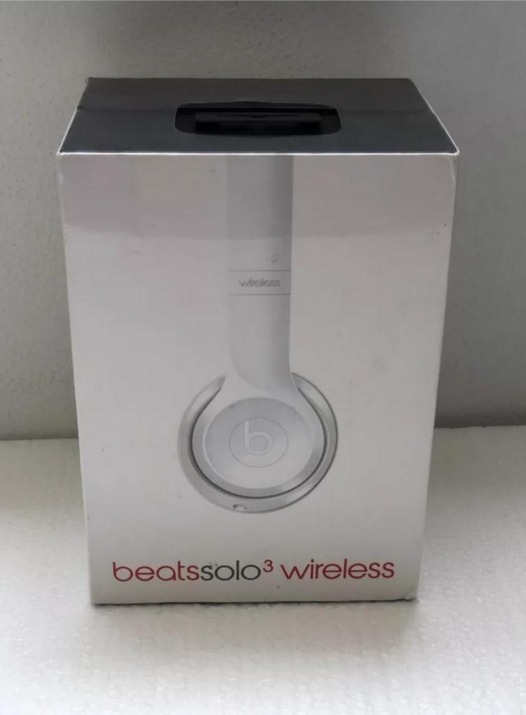 Audifonos Beats Solo 3 Wireles nuevos en Caja Sellada
