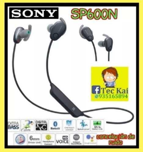 Audífono Bluetooth Sony Sp600n, Extrabass, Cancelación