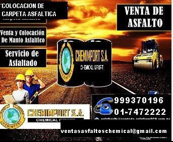 VENTAS DE ASFALTO LIQUIDO MC-30 PARA IMPRIMACION DE PISTAS
