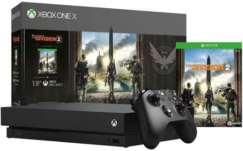 Consola Microsoft Xbox One X 1tb Tom Clancys The Division 2