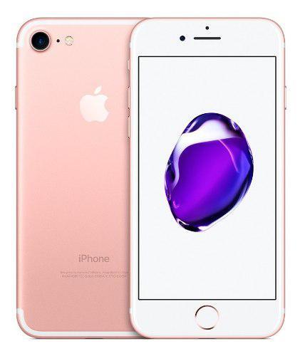 Apple iPhone 7 32gb Rose Gold Nuevo Sellado Tienda Garantía