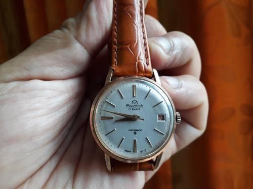 Antiguo Reloj Silvana Oro 20 Micrones - 17 Rubis - Incabloc