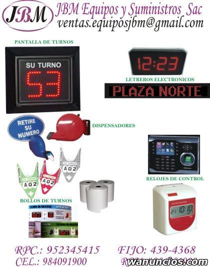 Kit ordenador de turnos / turnomatico inalámbrico