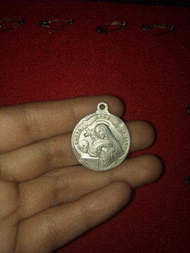 Yh Antigua Medalla Santa Rosa Y Patron Del Mar Del Callao