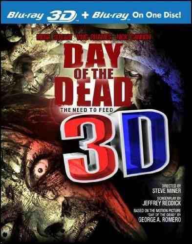Blu Ray Day Of The Dead 3d - 2d - Stock - Nuevo - Sellado