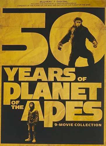 Blu Ray Planeta De Los Simios Colección - Stock - Nuevo