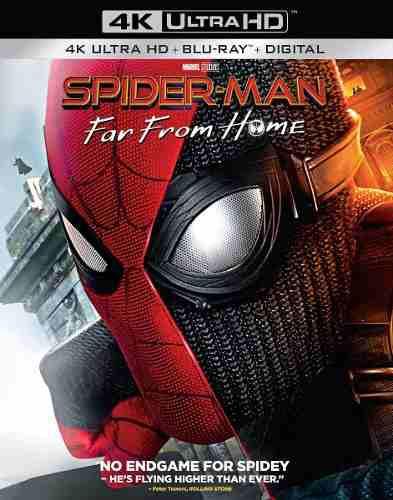 Blu Ray Spiderman: Lejos De Casa 2d - 4k - Stock - Nuevo