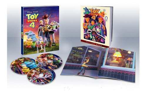 Blu Ray Toy Story 4 En 2d - 4k (Digibook) Stock - Nuevo
