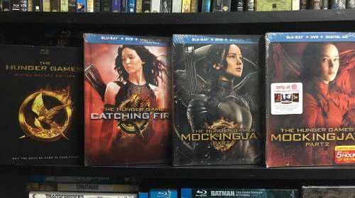 Hunger Games Bluray 4 Ediciones, Nuevas Exclusivas