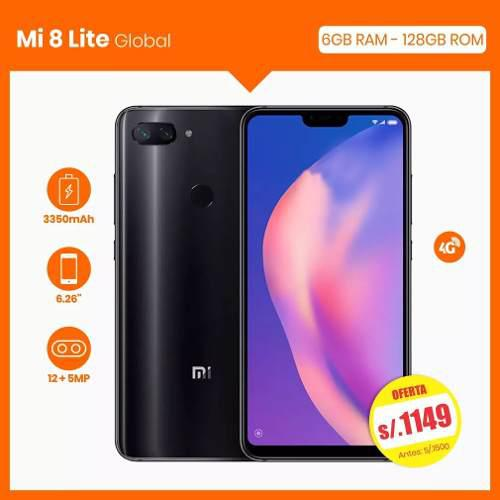 Xiaomi Mi 8 Lite 4gb Ram 64gb Smartphone No Samsung Huawei