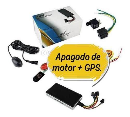 Apagado De Motor + Gps + App. Asegura Tu Inversión.
