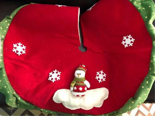Piso Pie De Árbol De Navidad