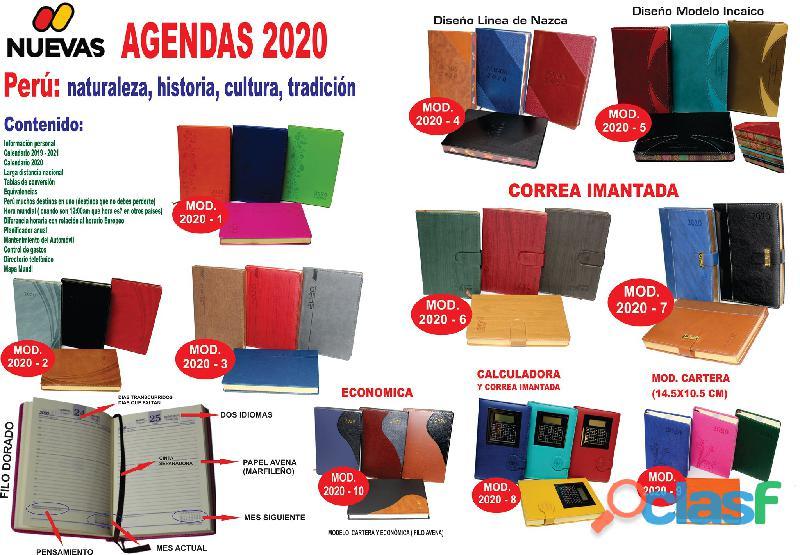 AGENDAS 2020 EJECUTIVAS