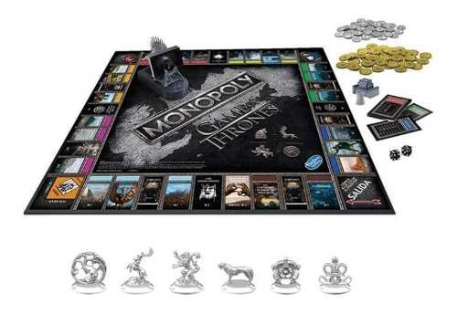 Hasbro-juego De Mesa Monopoly Game Of Thrones