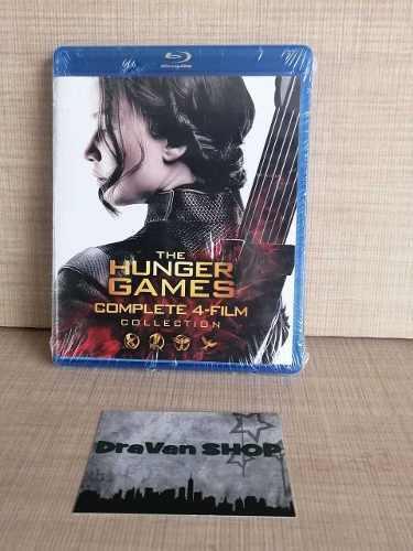 Hunger Games Juegos Del Hambre Blu Ray Película Collecion