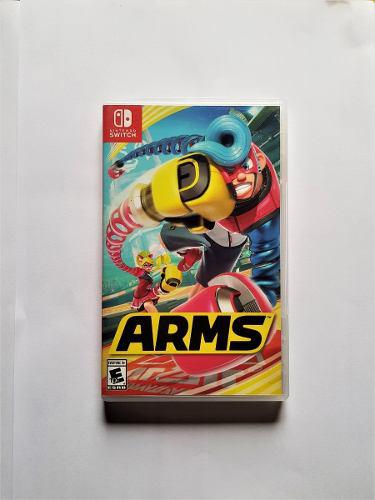 Juego Arms Original Nintendo Switch. No Ps4 Wii 3ds Ps