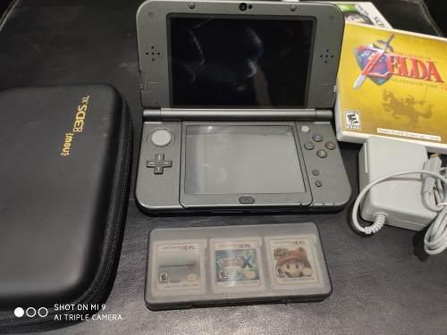 New Nintendo 3ds Xl Black