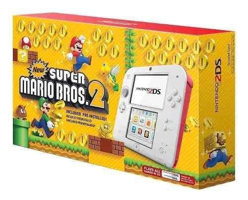 Nintendo 2ds Edicion New Super Mario Bros 2