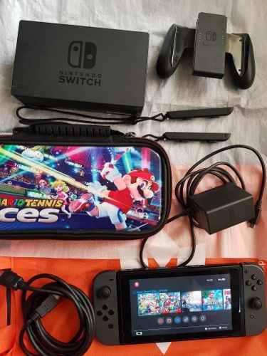 Nintendo Switch Flasheado Con Memoria De 64gb 15 Juegos