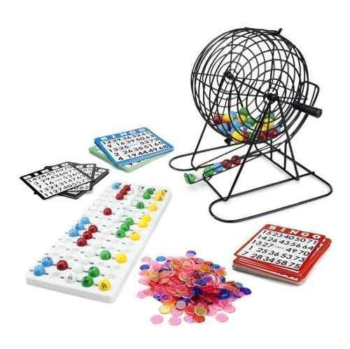 Royal Bingo Supplies Juego De Bingo Grande, Con 100 Tarjeta
