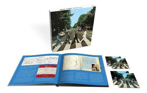 The Beatles Abbey Road 50 Aniversario 3cd 1 Bluray & Libro