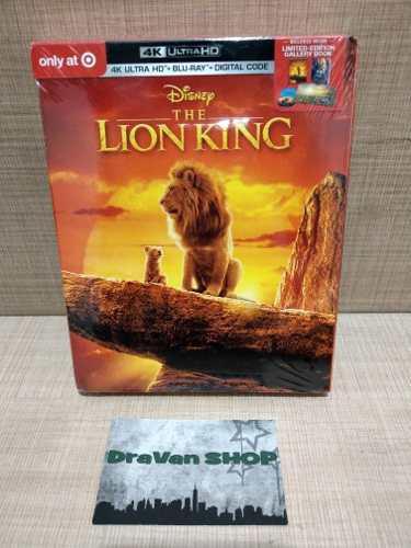 The Lion King El Rey Leon Película 4k Blu Ray Disney Stock