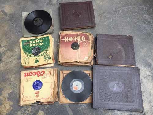 Coleccion De 200 Discos De Carbon Para Vitrola - Antiguedad