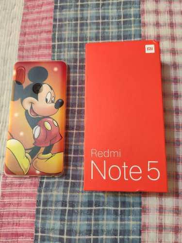Xiaomi Redmi Note 5 Negro Ram 4gb, Rom 64 Gb Version Global