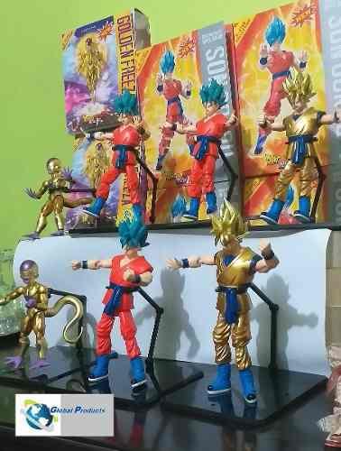 Dragon Ball Z Muñecos Articulables Figuras De Accion Pack