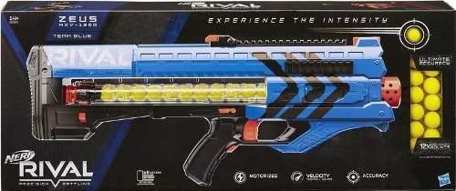 Nerf Zeus Rival Mvx - 1200 Azul Y Rojo C/u (2 X 250)